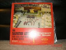 Word W3252 The Salvation Army New York Staff Band Male Chorus Symphony In Brass