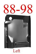 88 98 Left Front Complete Extended Floor Pan, Chevy, GMC, Truck, W/ Back Brace