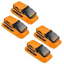 4x Koffergurt Gepäckgurt Koffergürtel Kofferband Gepäckband Kofferriemen Reise