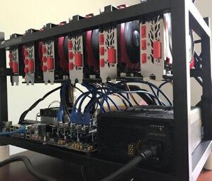 Gigabyte 3070 GPU INCLUDED! Mining Rig Crypto Mining Prebuilt 5-6 GPU Compact