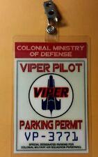 Battlestar Galactica Parking Permit-Viper  prop