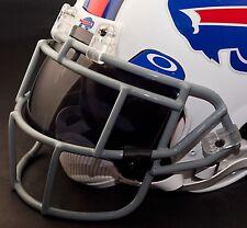 BUFFALO BILLS NFL Schutt EGOP Football Helmet Facemask/Faceguard (GRAY)