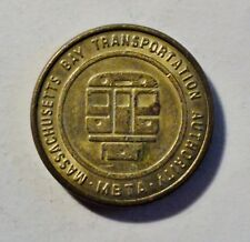 Massachusetts Bay Transportation Authority - MBTA - Token