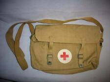 Post War 1937 Pattern Webbing Shell Dressing/Medical Bag and Cross Strap
