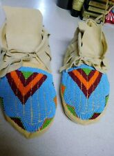 Beaded Moccasins - Beaded -