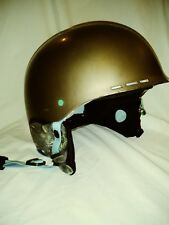 Smith Holt Skullcandy Audio Snow Ski Wake Skate Helmet Bronze Green Large