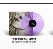 Wild Nothing Gemini PURPLE VINYL LP Record & MP3 pre-indigo 2010 album rare! NEW