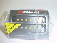 DIMARZIO DP202 Al DiMeola Bridge Guitar Pickup BLACK F-SPACING GOLD POLES
