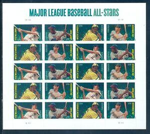 US 4694-4697 Major League Baseball Stars, Forever Complete Sheet/20, Mint NH