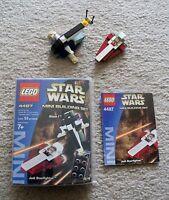 LEGO Star Wars - Rare 4487 Jedi Starfighter & Slave I - w/ Box