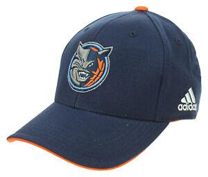 Adidas NBA Youth Charlotte Bobcats Basic Structured Adjustable Strap Cap, Navy
