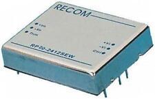 1 X Recom RP20-2412SEW 20 W aislados Convertidor DC-DC, número de bastidor 9-36 V, Vout 12 V DC@1.7A