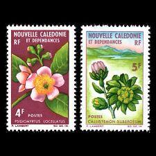 New Caledonia 1965 - Flowers Flora Plants - Sc 333/4 MNH