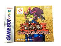 Yu-Gi-Oh! Dark Duel Stories - Authentic - Nintendo Game Boy Color - Manual Only!