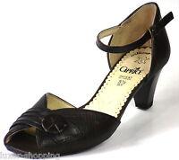 Neu Caprice Sandale Leder Gr.38,5 (5,5) Weite G braun Damen Schuhe Sandaletten