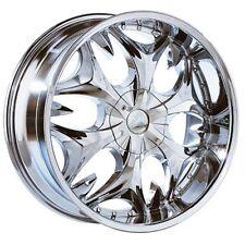 20 inch 20x7.5 B3 Chrome wheels rims 5x4.5 5x114.3 +35