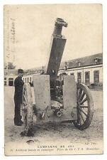 campagne 1914 artillerie lourde de campagne pièce de 155  C.T.R rimailho