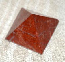 "Pyramid Red Jasper Approx. 1.5-2""-Healing Gemstone Pyramid-Energized"