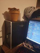 hp Gaming computer desktop with gtx 1050 ti 4gb 16gb 3200 ram
