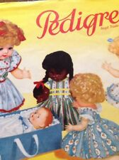 Pedigree Rare vintage 1958 doll catalogue 30pp + ; Copy from archive original