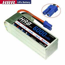 HRB 22.2V 6000mAh 6S LiPo Battery EC5 for RC Arrma BLX Infraction 1/7TH 1/8TH
