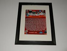 "Framed Bonnaroo 2013 Handbill 14"" x 17"" Paul McCartney, Mumford & Sons, T Petty"