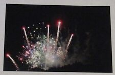 "Photography Unframed 4x6 Print, ""Celebration in the Sky"", Fireworks, Bright,"