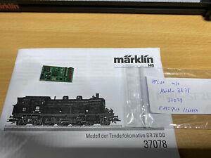 Märklin 260054 | mfx Sounddecoder BR 78 DB | aus 37078 | 21mtc E193947