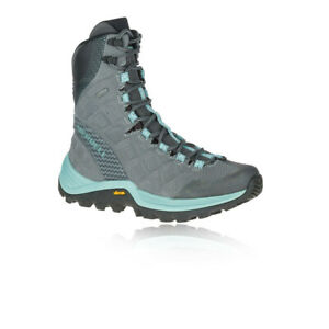 """Merrell Womens Thermo Rogue 8"""" GORE-TEX Walking Boots Blue Grey Sports Outdoors"""