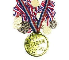 120 x Childrens Sports Day Race Gold Winners Medals Prizes Awards Toys T02 700