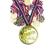 120x Sport Per Bambini Giornata Di Gara Oro Vincitori Medaglie Premi Premi