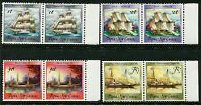 PAPUA NEW GUINEA - 1988 'HISTORIAL SAILING SHIPS' Pairs MNH [B6475]