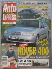 Auto Express magazine 5-11 May 1995 featuring Renault, SEAT