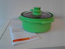 Schnellkochtopf Rangemate für die Mikrowelle grün
