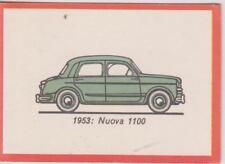 Monty Gum trading card 1972 Oldtimers 1953 -  FIAT Nuova 1100
