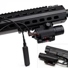 4 x2in1 Tactical LED Flashlight Red Laser Sight Combo F Shotgun Glock Rifle