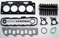 FOR RENAULT MEGANE SCENIC LAGUNA TRAFIC S40 1.9 DCi F9Q HEAD GASKET SET & BOLTS