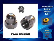 LOT de 2 écrous de verrouillage Pour GOPRO en métal.