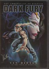 The Chronicles of Riddick - Dark Fury Dvd. 2004 Animated.