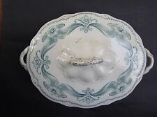 ANTIQUE ART NOUVEAU '' MELBA '' W.H.GRINDLEY &CO SOUP BOWL C1890's