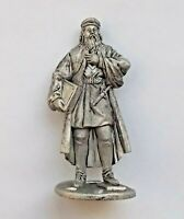 1/32 Leonardo da Vinci Medieval Man Tin Metal Soldier handmade figure 54mm NEW