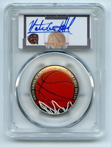 2020 S 50C Colorized Basketball Hall of Fame PCGS PR70DCAM FDOI Nate Archibald