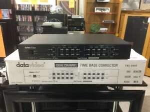 DataVideo TBC-3000 Dual Time Base Corrector Frame Sync & Video Processorm w/Box