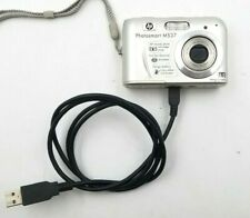 Hp PhotoSmart M537 6.0Mp Digital Camera - Silver Includes Usb Cable *Tested*