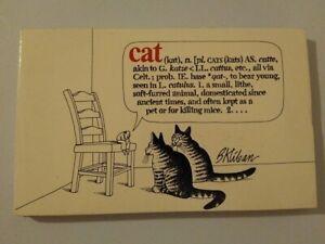 Cat by B. Kilban (Workman Publishing @1975, 22nd print)  paperback