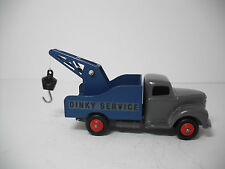 Meccano Dinky Toy #25x-G Commer Breakdown Lorry v1Gray/Dk.Blue. Restored NM