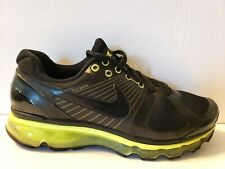 cfe0d0039b Nike Air Max 360 2010 Mens Size 9.5 Shoe Black Green Attack Pack 386368 008