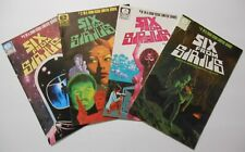Six From Sirius #s 1-4 (1984, Marvel/Epic) COMPLETE  Moench/Gulacy VF(+) average