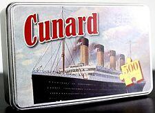 Cunard 500 piece jigsaw puzzle in a tin      420mm x 297mm (rf)