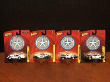 Johnny Lightning Beat The Heat Malibu Chevelle Camaro Corvette Lot Of 4 EM3115